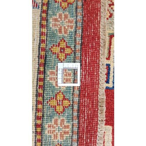 Handgeknoopt kazak tapijt 378x283 cm  oosters kleed vloerkleed