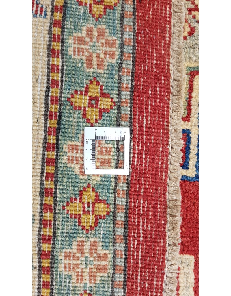 ZARGAR RUGS Handgeknüpft wolle kazak teppich 378x283 cm   Orientalisch  teppich