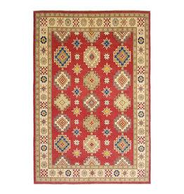 ZARGAR RUGS Handgeknoopt kazak tapijt 378x283 cm  oosters kleed vloerkleed