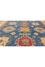 ZARGAR RUGS Handgeknüpft wolle kazak teppich 388x277 cm   Orientalisch  teppich