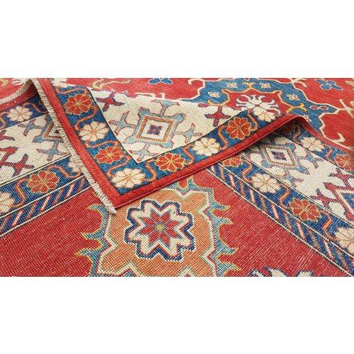 Handgeknoopt kazak tapijt 380x262 cm  oosters kleed vloerkleed