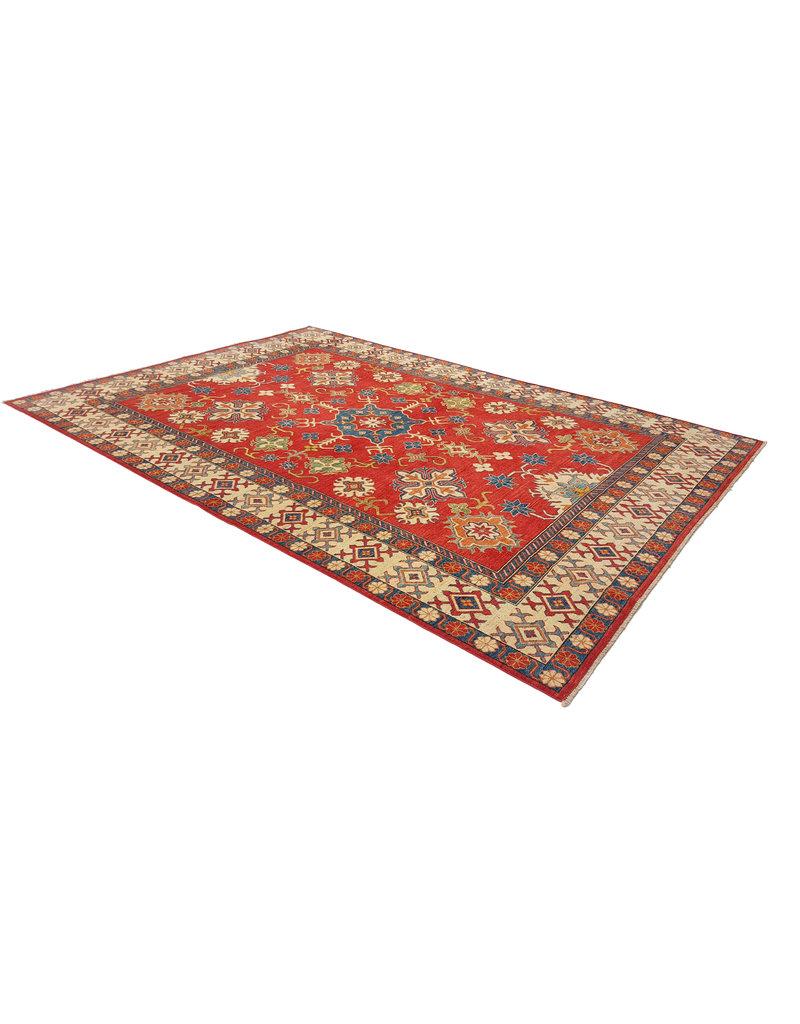 ZARGAR RUGS Handgeknüpft wolle kazak teppich 380x262 cm   Orientalisch  teppich
