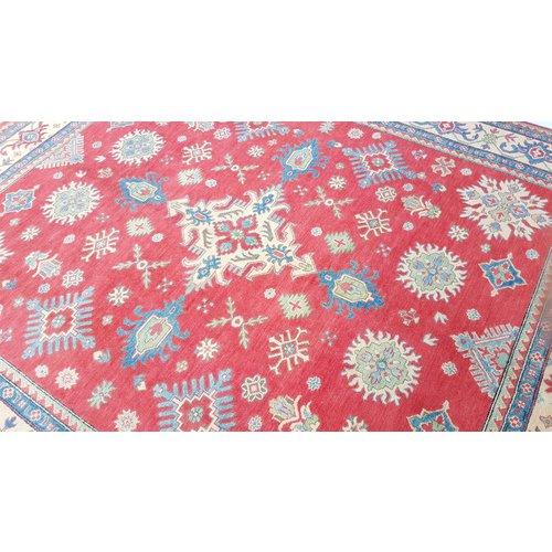 Handgeknoopt kazak tapijt 295x245cm  oosters kleed vloerkleed