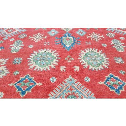 Handgeknoopt kazak tapijt 300x244 cm  oosters kleed vloerkleed