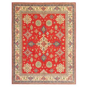 Handgeknüpft wolle kazak teppich 300x244 cm  Orientalisch  teppich