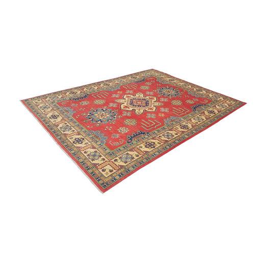 Hand knotted  12'x 8'9 wool kazak area rug  366x273 cm Oriental carpet