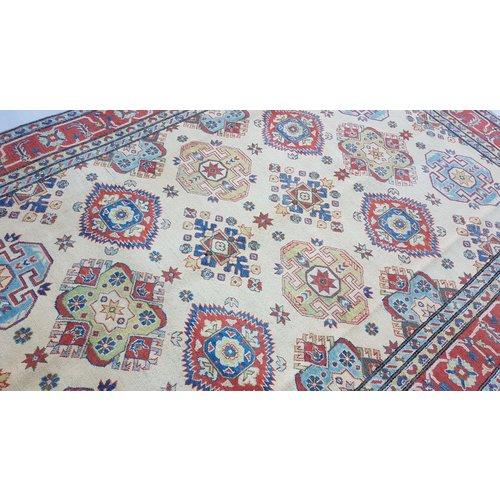 Handgeknoopt kazak tapijt 294x201 cm  oosters kleed vloerkleed