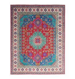 ZARGAR RUGS Handgeknoopt kazak tapijt 296x249 cm  oosters kleed vloerkleed