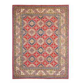ZARGAR RUGS Hand knotted 10' x 8'  wool kazak area rug 315x247 cm  Oriental carpet