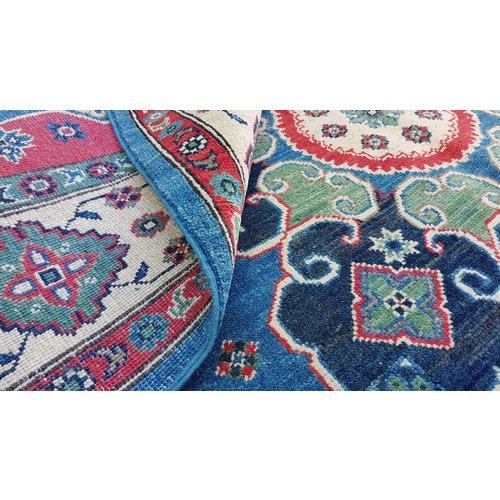 Hand knotted  10'x6'4 wool kazak area rug  311x198 cm   Oriental carpet