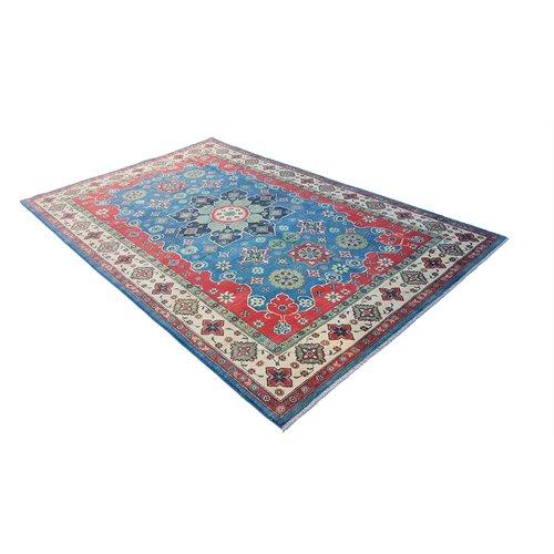Handgeknoopt kazak tapijt 311x198 cm  oosters kleed vloerkleed