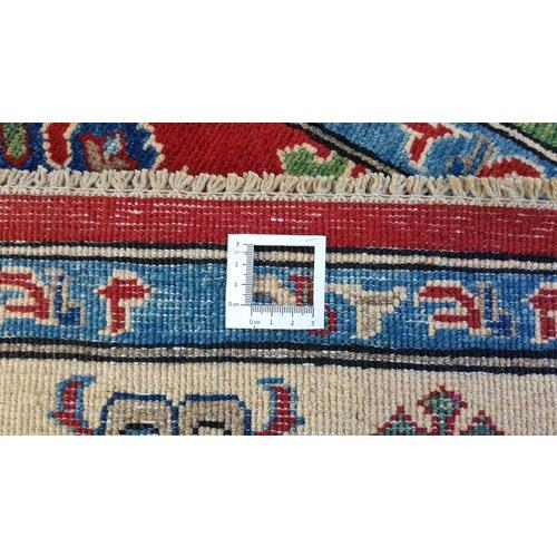 Handgeknoopt kazak tapijt 293x192 cm  oosters kleed vloerkleed