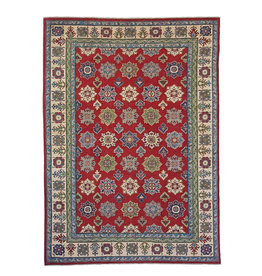 ZARGAR RUGS Hand knotted  9'6x6'  wool kazak area rug  293x192 cm   Oriental carpet