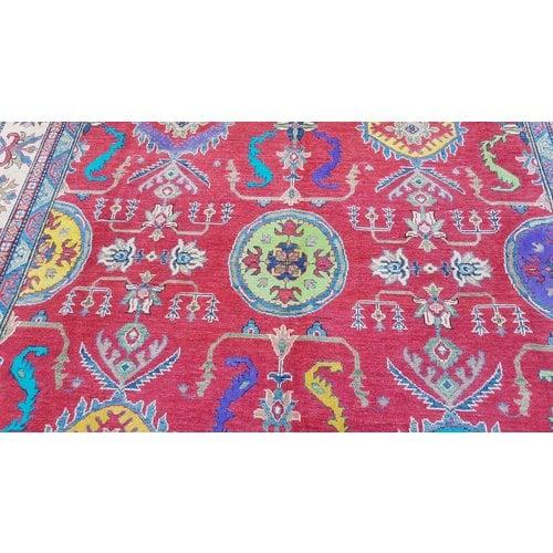 Handgeknüpft wolle kazak teppich 319x250 cm Orientalisch  teppich