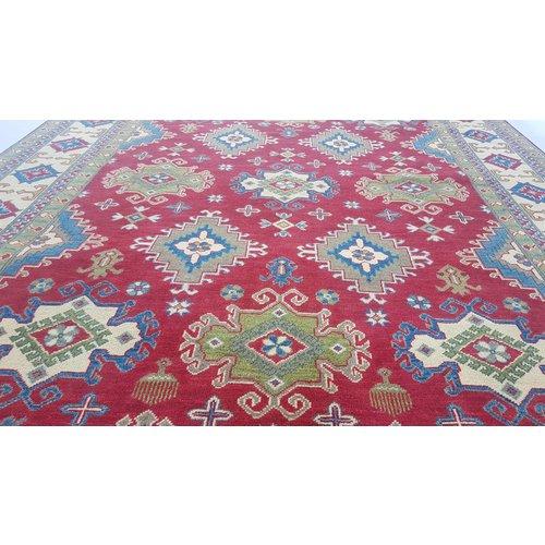 Handgeknüpft wolle kazak teppich 296x200 cm   Orientalisch  teppich