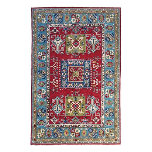 Handgeknüpft wolle kazak teppich  275x185 cm Orientalisch  teppich