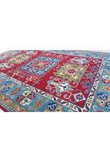 ZARGAR RUGS Handgeknüpft wolle kazak teppich  275x185 cm Orientalisch  teppich