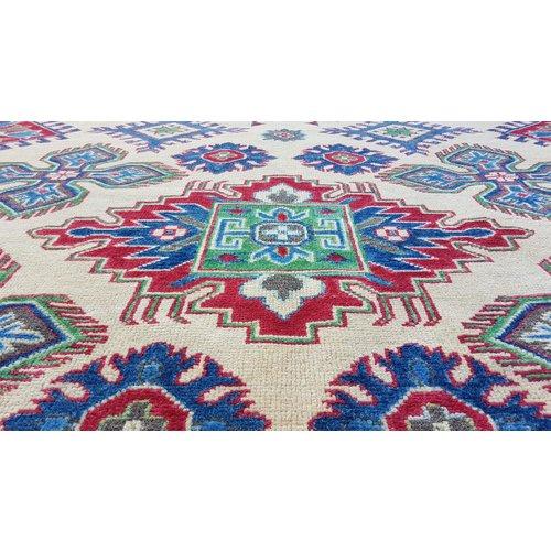 Handgeknoopt kazak tapijt 268x190 cm  oosters kleed vloerkleed