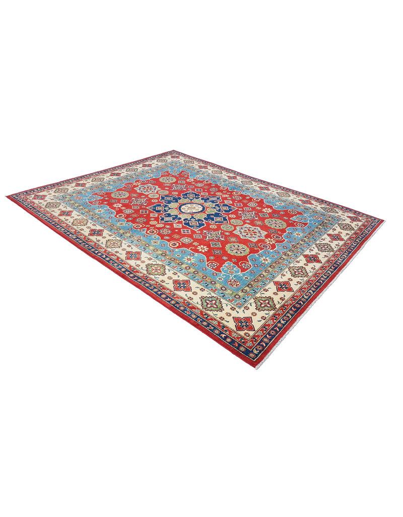 ZARGAR RUGS shal Hand knotted  9'11 x 7'8 wool kazak area rug 303x240 cm   Oriental carpet