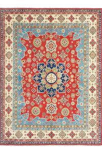 Handgeknoopt kazak tapijt 303x240 cm  oosters kleed vloerkleed