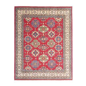 Hand knotted  9'10 x 7'11 wool kazak area rug 301x243 cm   Oriental carpet