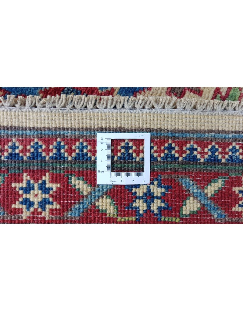 ZARGAR RUGS  Handgeknoopt kazak tapijt 275x186 cm oosters kleed vloerkleed
