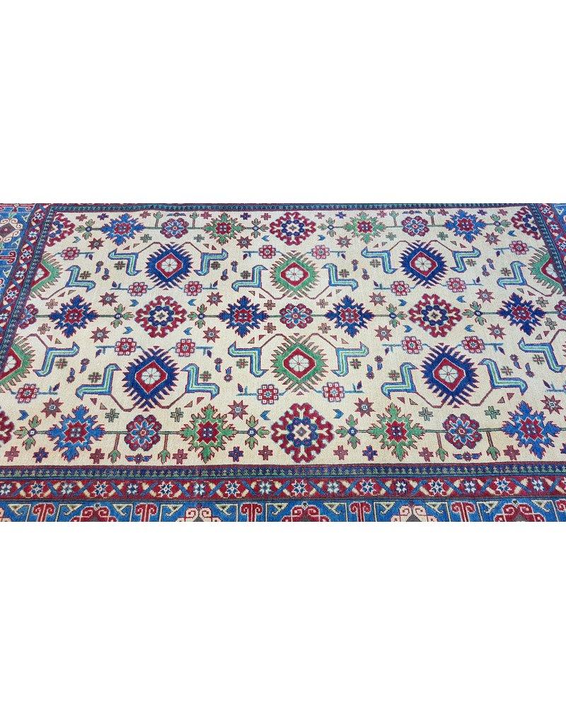 ZARGAR RUGS Handgeknüpft wolle kazak teppich  275x186 cm Orientalisch  teppich