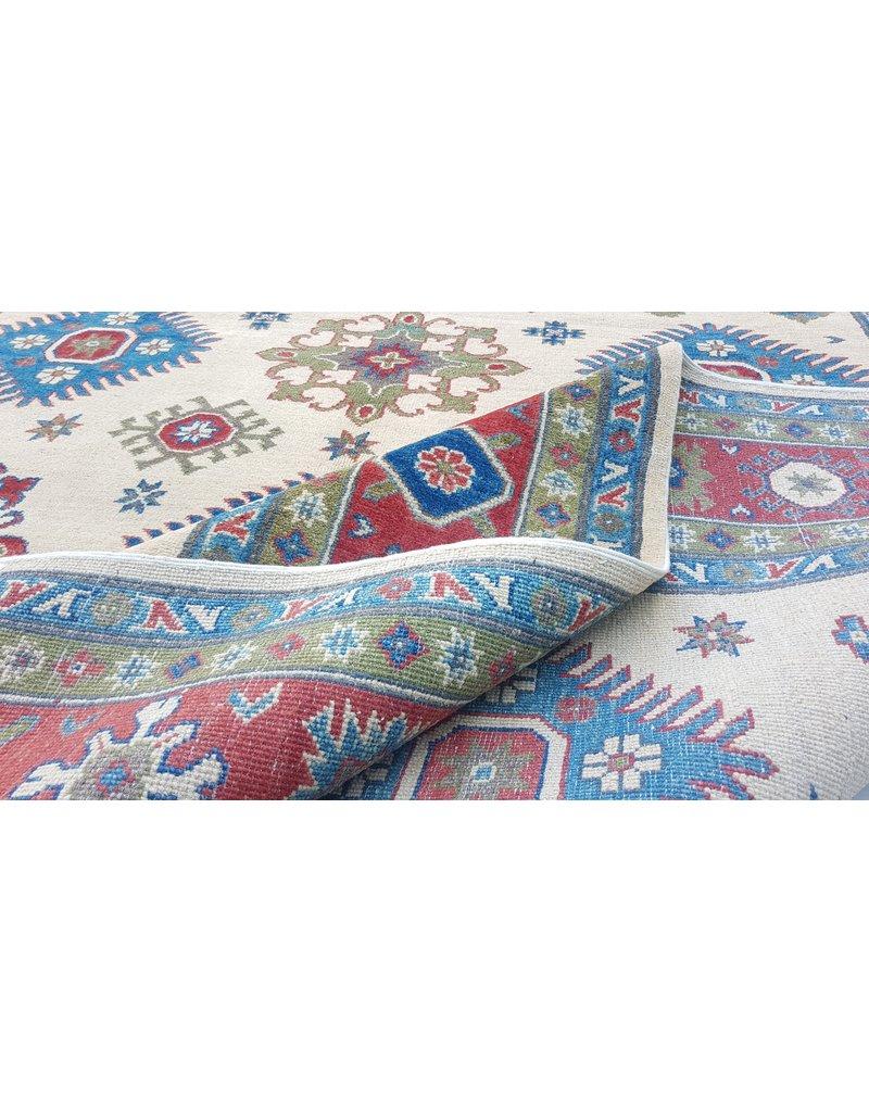 ZARGAR RUGS Handgeknüpft wolle kazak teppich  283x199 cm Orientalisch  teppich