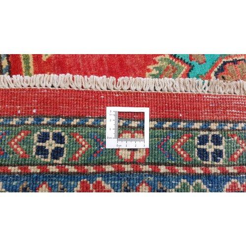 Handgeknüpft wolle kazak teppich  356x269  cm   Orientalisch teppichboden