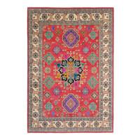 Handgeknoopt kazak tapijt 356x269 cm  oosters kleed vloerkleed
