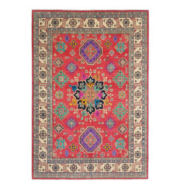 ZARGAR RUGS shal Hand knotted  11'6x 8'8 wool kazak area rug  356x269  cm  Oriental carpet