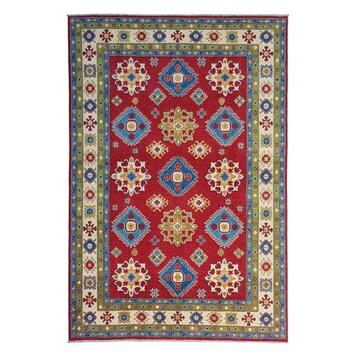 Handgeknoopt kazak tapijt 295x200 cm  oosters kleed vloerkleed