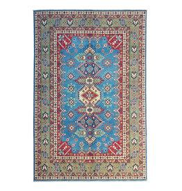 ZARGAR RUGS Hand knotted  9'6x 6'5 wool kazak area rug  295x200 cm   Oriental carpet