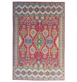 ZARGAR RUGS Hand knotted  9'5x 6'7 wool kazak area rug  292x205 cm   Oriental carpet