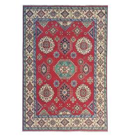 ZARGAR RUGS Hand knotted  9'5x6'6 wool kazak area rug   291x202 cm   Oriental carpet