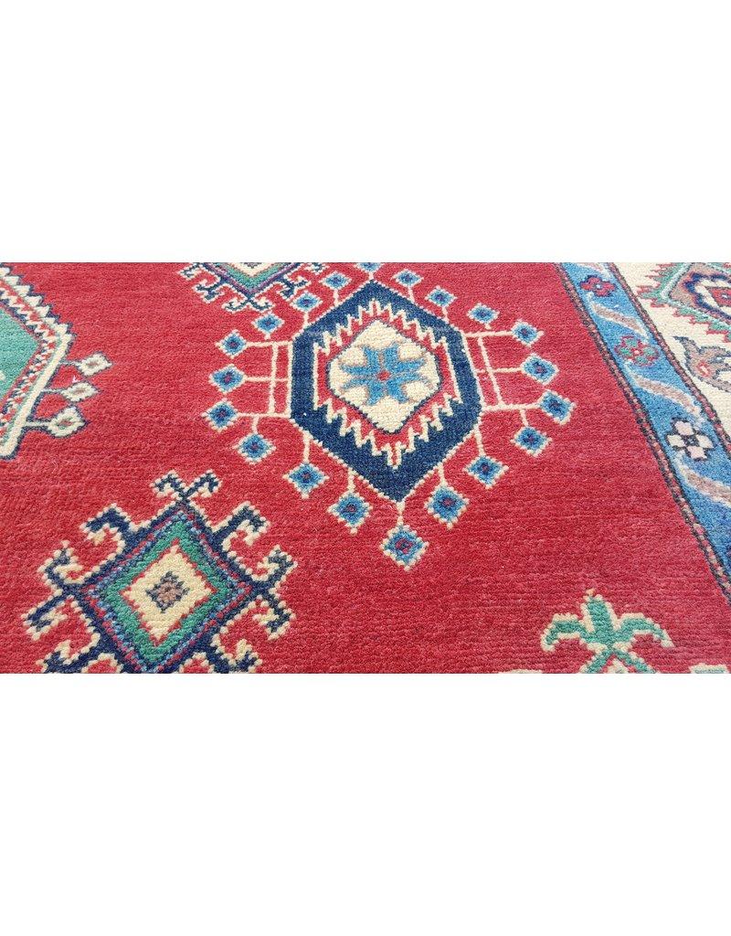 ZARGAR RUGS Handgeknüpft wolle kazak teppich  291x202 cm    Orientalisch  teppich