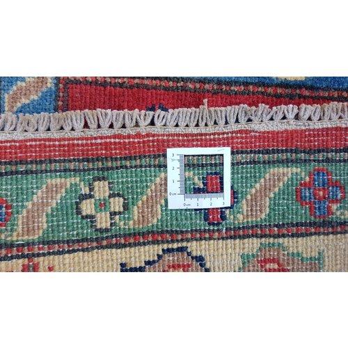 Handgeknoopt kazak tapijt  291x202 cm  oosters kleed vloerkleed