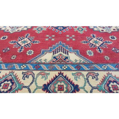 Handgeknüpft wolle kazak teppich  291x202 cm    Orientalisch  teppich