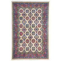 Handgeknüpft wolle kazak teppich 293x196 cm   Orientalisch  teppich