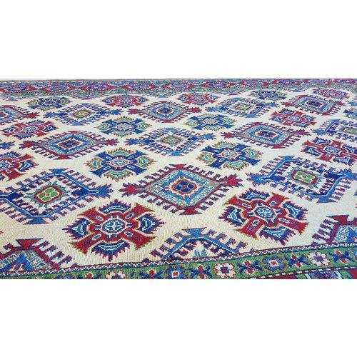 Handgeknoopt kazak tapijt 293x196 cm  oosters kleed vloerkleed