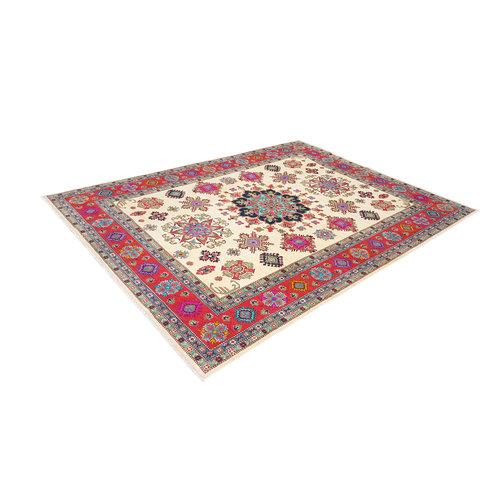 Handgeknüpft wolle kazak teppich  361x278 cm   Orientalisch teppichboden