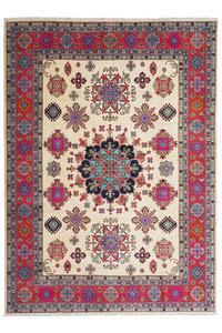 Handgeknoopt kazak tapijt 361x278 cm  oosters kleed vloerkleed