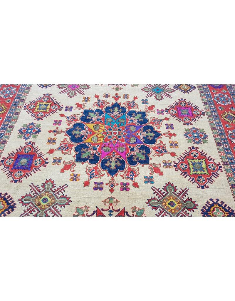 ZARGAR RUGS Handgeknüpft wolle kazak teppich  358x280 cm   Orientalisch teppichboden