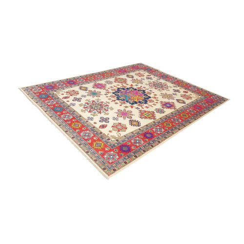 shal Hand knotted  11'7x 9' wool kazak area rug  358x280 cm  Oriental carpet