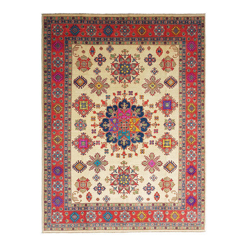 Handgeknoopt kazak tapijt 358x280 cm  oosters kleed vloerkleed