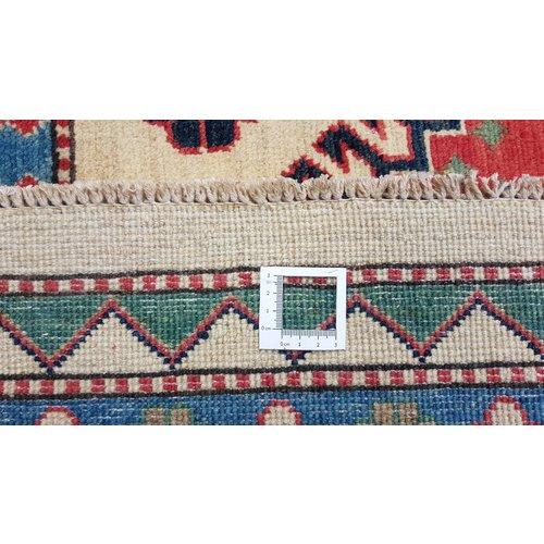 Handgeknoopt kazak tapijt 362x273 cm  oosters kleed vloerkleed