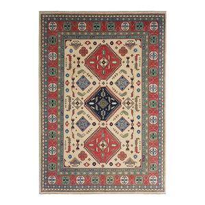 Handgeknüpft wolle kazak teppich  362x273 cm   Orientalisch teppichboden