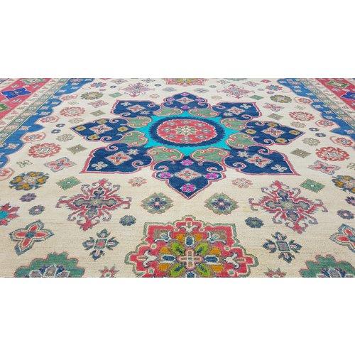 Handgeknüpft wolle kazak teppich  356x279 cm   Orientalisch teppichboden