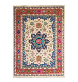 ZARGAR RUGS Handgeknoopt kazak tapijt 356x279 cm  oosters kleed vloerkleed