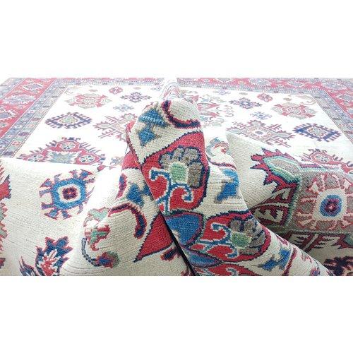 Handgeknoopt kazak tapijt 361x280 cm  oosters kleed vloerkleed